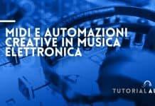 Automazioni creative su protools
