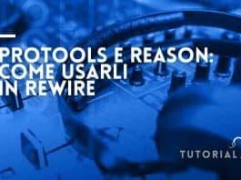 Protools e reason in rewire